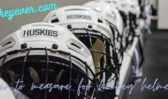How to measure for hockey helmet