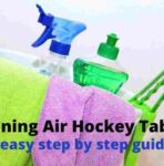 How to Clean an Air Hockey Table the Easy Way